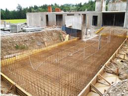 bazen v izgradnji