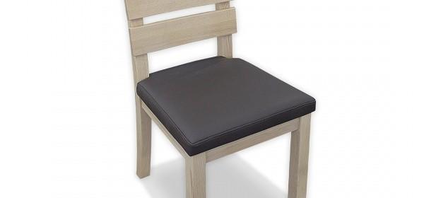 Usnjen jedilni stol