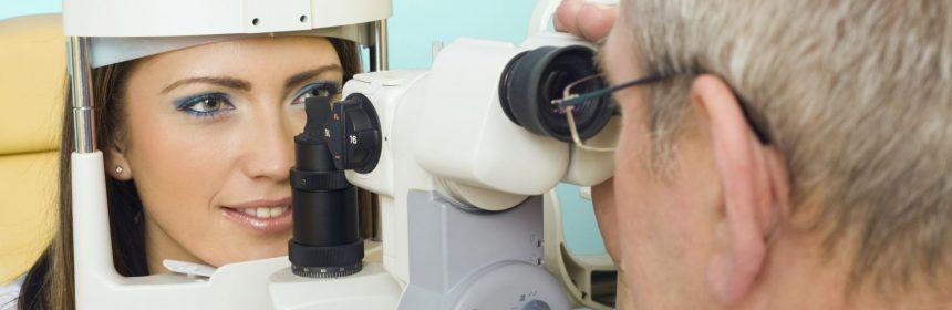 Pregled očesnih napak
