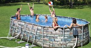 montažni bazen